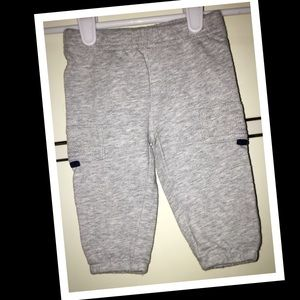 💫3/$12💫Carters 3m baby boy grey sweats🧸EUC🧸
